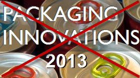 Packaging Innovations 2013 cancelado