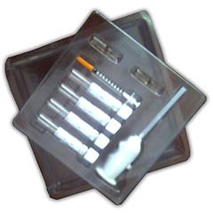 Bandejas de plástico protectoras