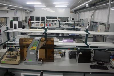 Laboratorios para examinar envases de plastico