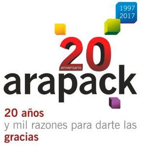Lema 20 aniversario Arapack