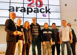 20 años aniversario Arapack