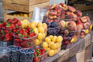Envases de plástico para fresas