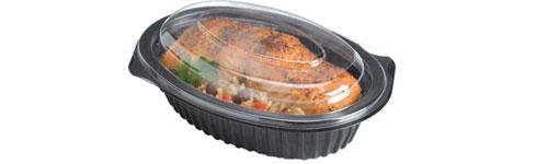 Envases de plástico de comida para llevar