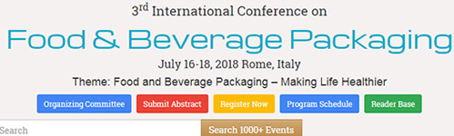 Conferencia Packaging Roma 2018