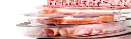 envases de plástico para alimentos en atmósfera protectora