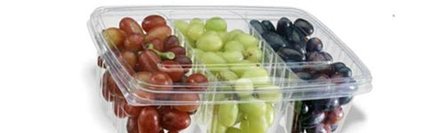 Envase termoconformado para uvas fin de año
