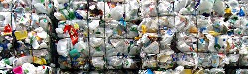 envases de plástico reciclaje en Aragón