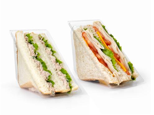 Fabricación de envases para sandwiches