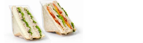 Sándwiches envasados para consumir en cualquier lugar